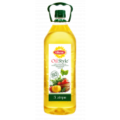 Олія соняшникова 3 л Oil Style ТМ Олком
