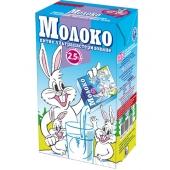 Молоко 2,5% питне ультрапастеризоване 1л ТМ Заречье
