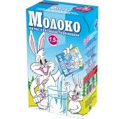 Молоко 1,5% питне ультрапастеризоване 1л ТМ Заречье