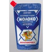 Молоко незбиране згущене Премiум 8,5% дой-пак 290 г ТМ Полтавочка