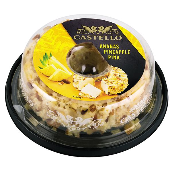 Крем-сир з ананасом 65% ТМ Кастелло