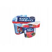 Йогурт Грецький лісова ягода 2% 130г ТМ Eco Greco