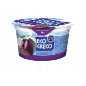 Йогурт Грецький Чорнослив-Льон 2% 130г ТМ Eco Greco