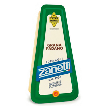 Грана Падано 200г 32% ТМ Zanetti