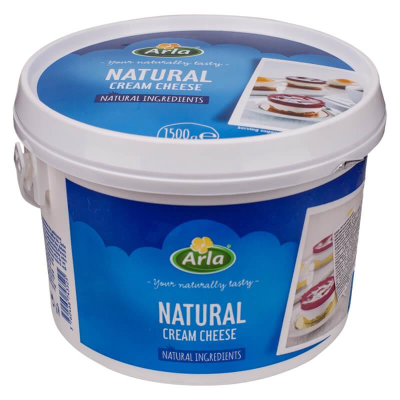 Крем-сир Натуральний 1,5кг 70% ТМ Arla