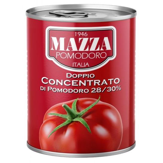 Подвійний концентрат томатної пасти 400г ж/б ТМ Mazza