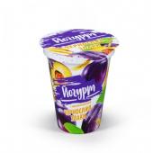 Йогурт чорнослив-злаки 2% 310г ТМ Бабушкіна кринка