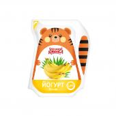 Йогурт Банан 2,8% 200г ТМ Бабушкіна кринка
