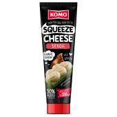 Сир плавлений Squeeze Cheese Бекон тюбик 150г ТМ КОМО