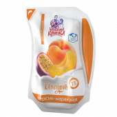 Йогурт Персик-Маракуйя 1% 800г ТМ Бабушкіна кринка