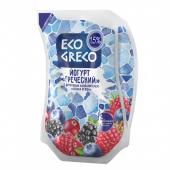 Йогурт Грецький питний лісова ягода 1,5% 800г ТМ Eco Greco