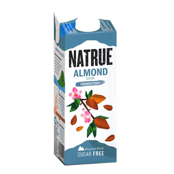 Напій мигдалевий з кальцієм без цукру Natrue 1л