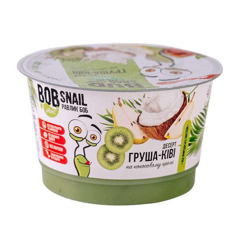 Десерт Груша-Ківі на кокосовому кремі 180г ТМ BobSnail